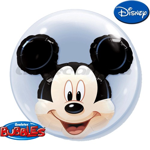 Balão Duplo Bubble MICKEY MOUSE