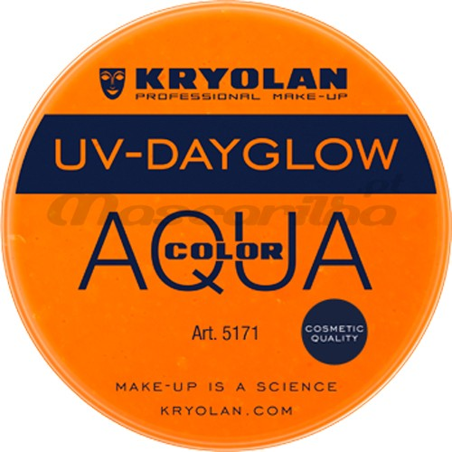 KRYOLAN Aqua Color UV Laranja 8ml