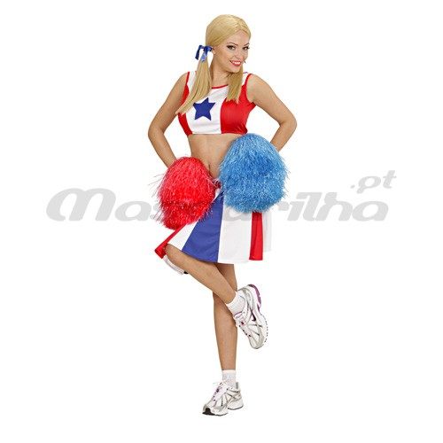 Fato Cheerleader Animadora