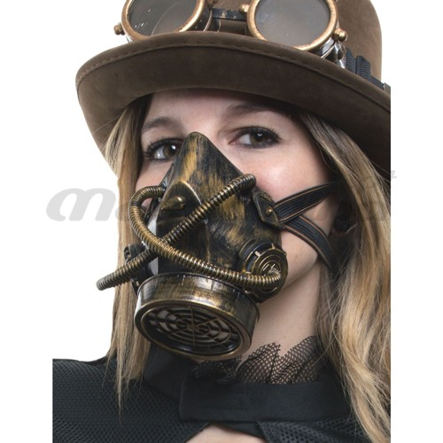 Máscara Anti Gás Steampunk