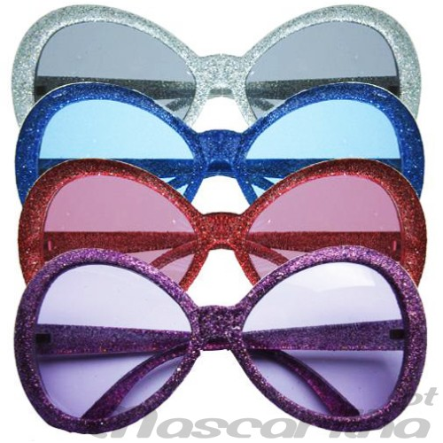 Oculos Dancing Queen brilhantes