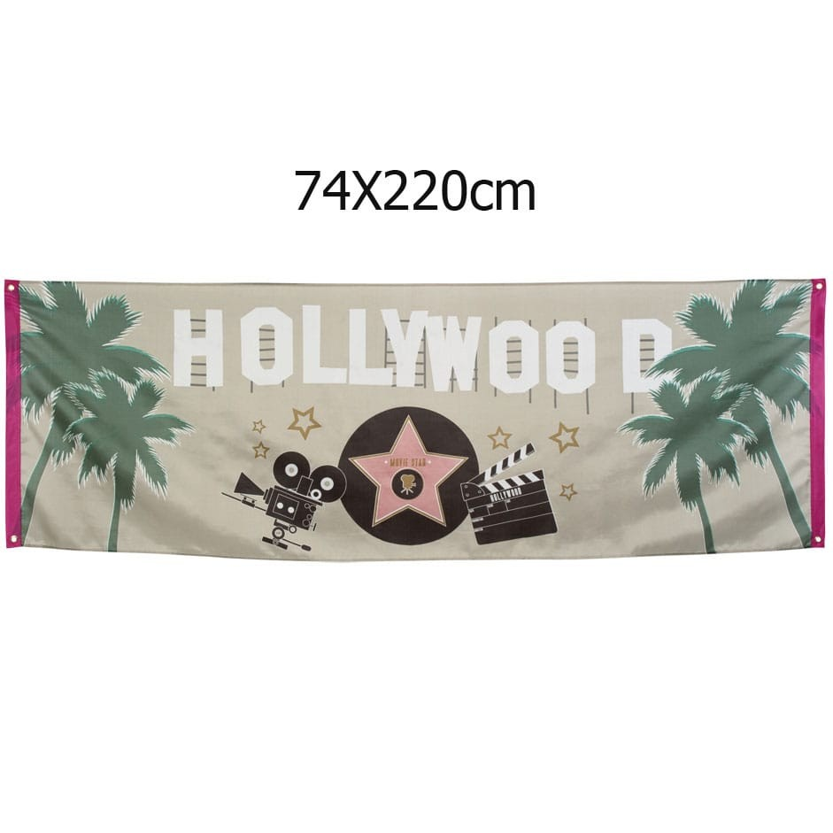 Bandeira Grande HOLLYWOOD