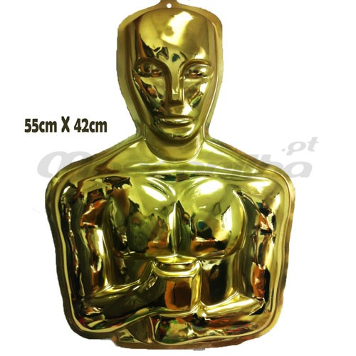 Placard Decorativo Oscar Hollywood