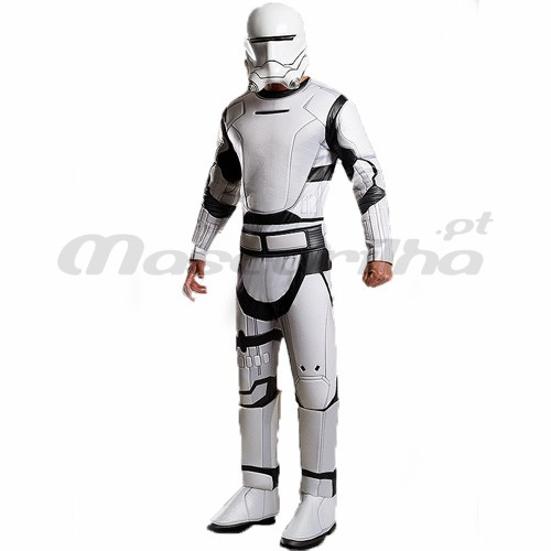 Fato Flametrooper Delux STAR WARS
