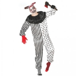 Fato Dark Clown Pierrot