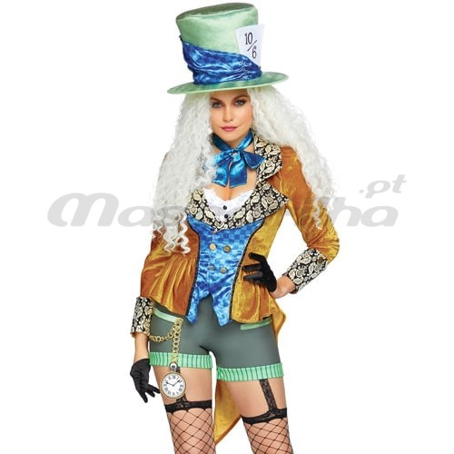 Fato Mad Hatter Delux