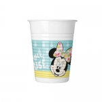 Copos Minnie Tropical 8un