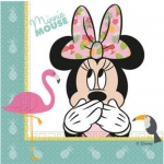 Guardanapos Minnie Tropical 20un