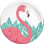 Pratos Flamingo 8un
