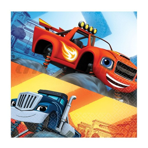 Guardanapos Blaze Monster Machines 16 Unid