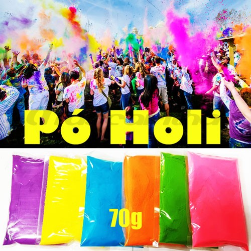 Pó Holi Powder Natural 70g