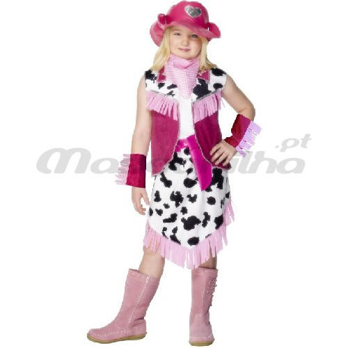 Fato Cowgirl Pink